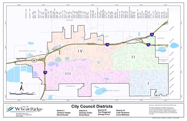 City Council District Map