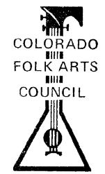 Colorado Folk Arts Council logo