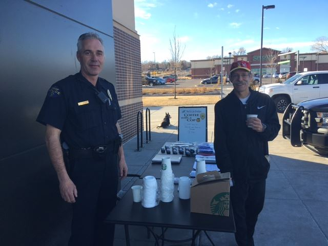Bowman Coffee with a Cop