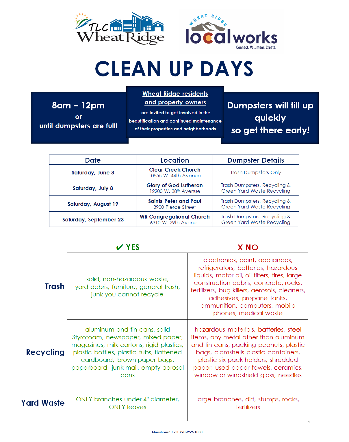 Clean Up Days
