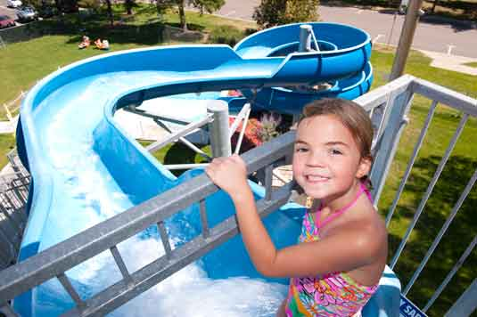 Anderson Pool Water Slide