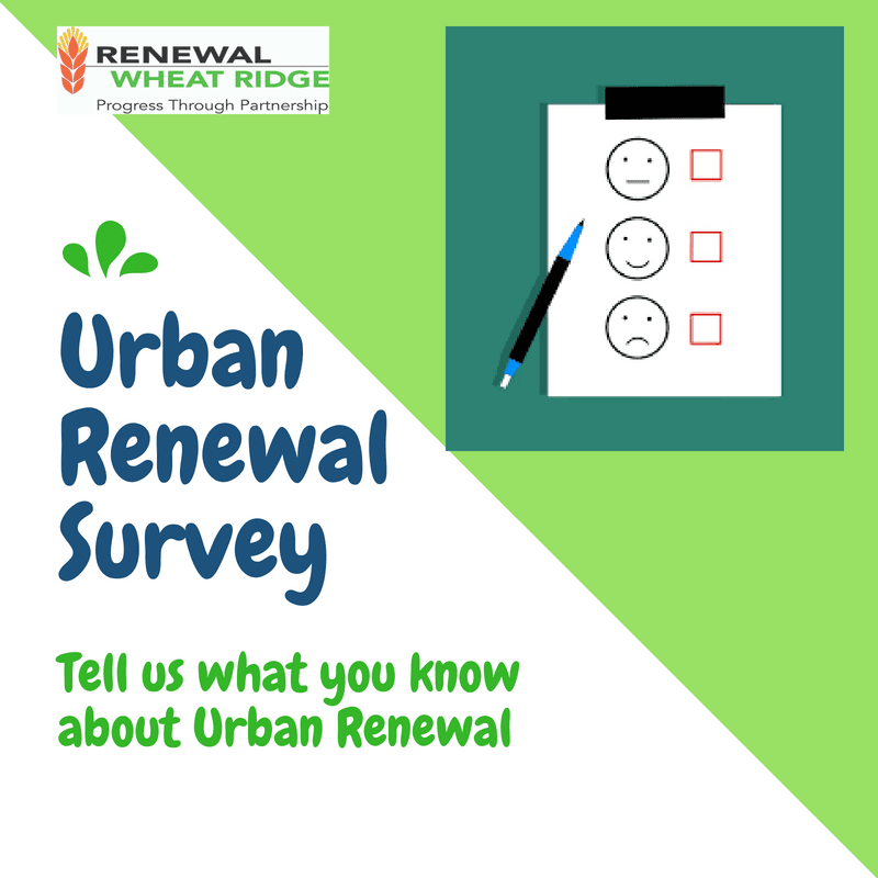 Urban Renewal Survey graphic