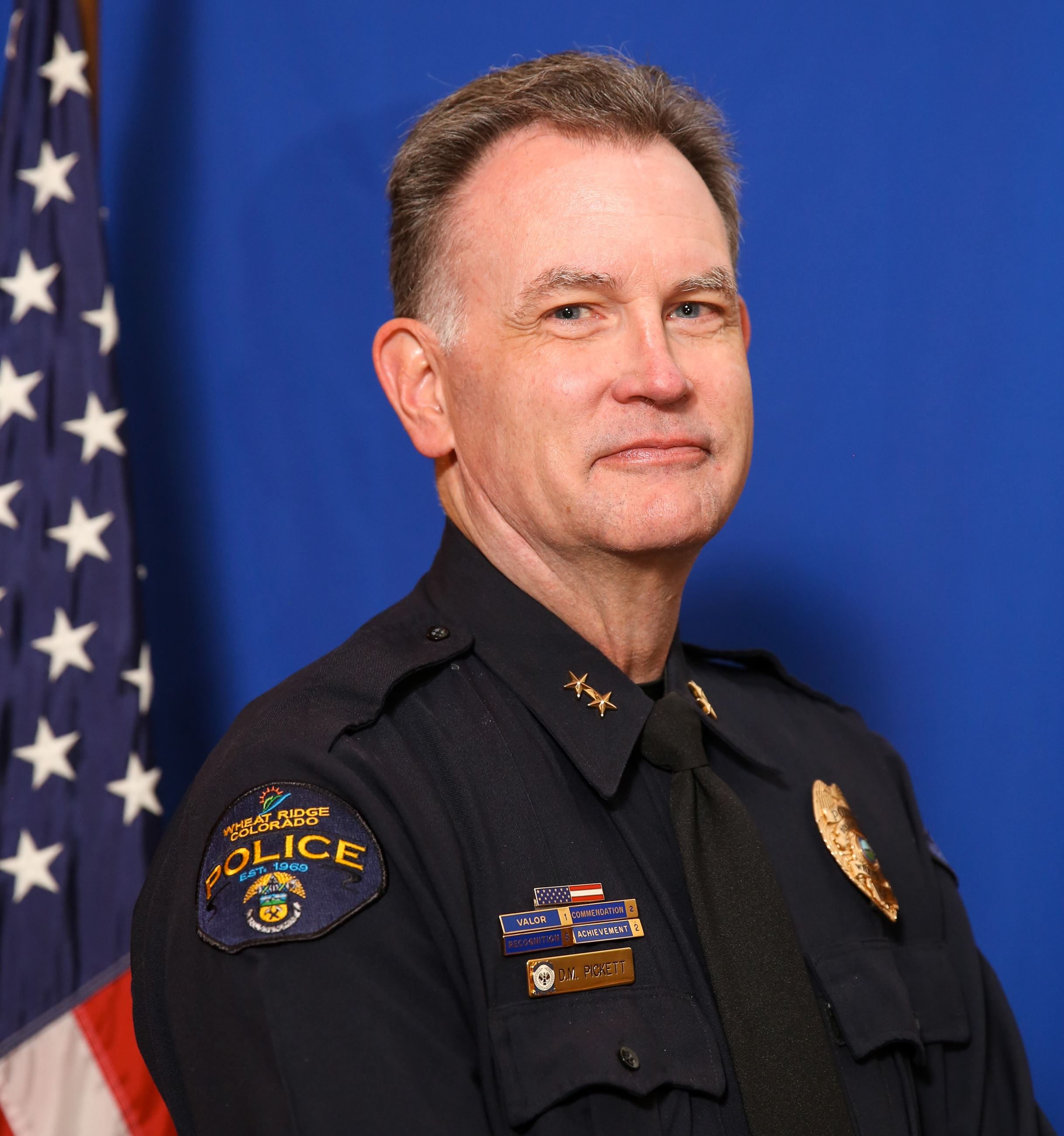 Phot of Chief Pickett for Contact Us