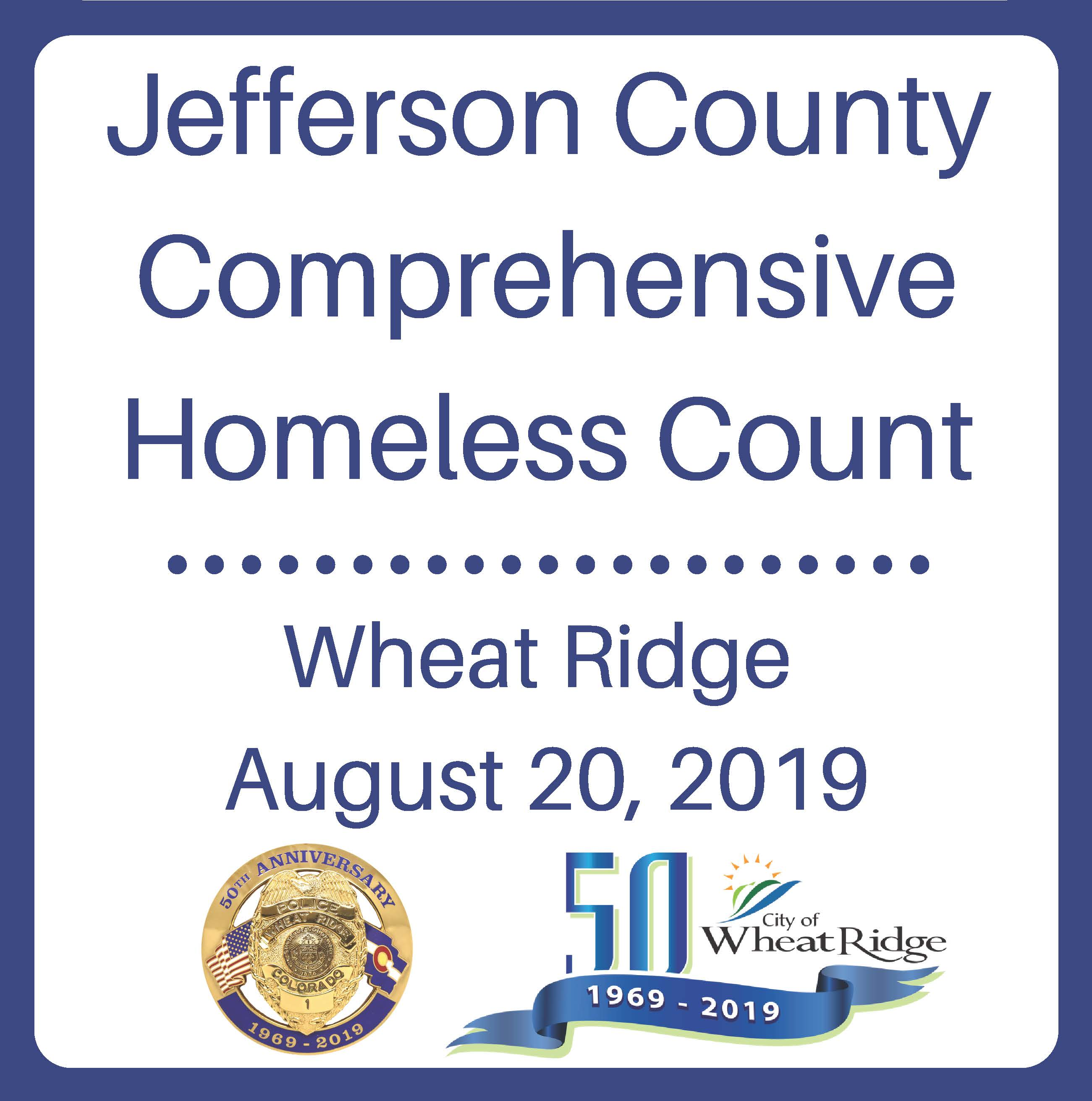 Jefferson County Comprehensive Homeless Count