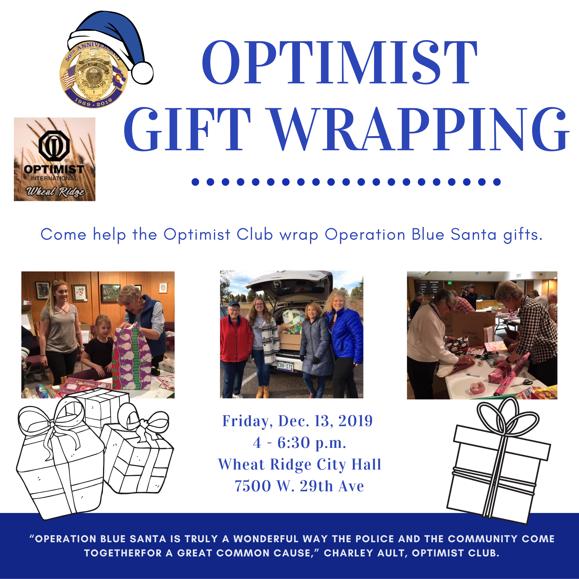 optimist gift wrapping