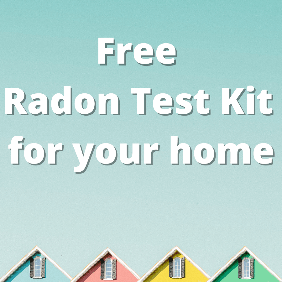 Free Radon Test Kit for your home