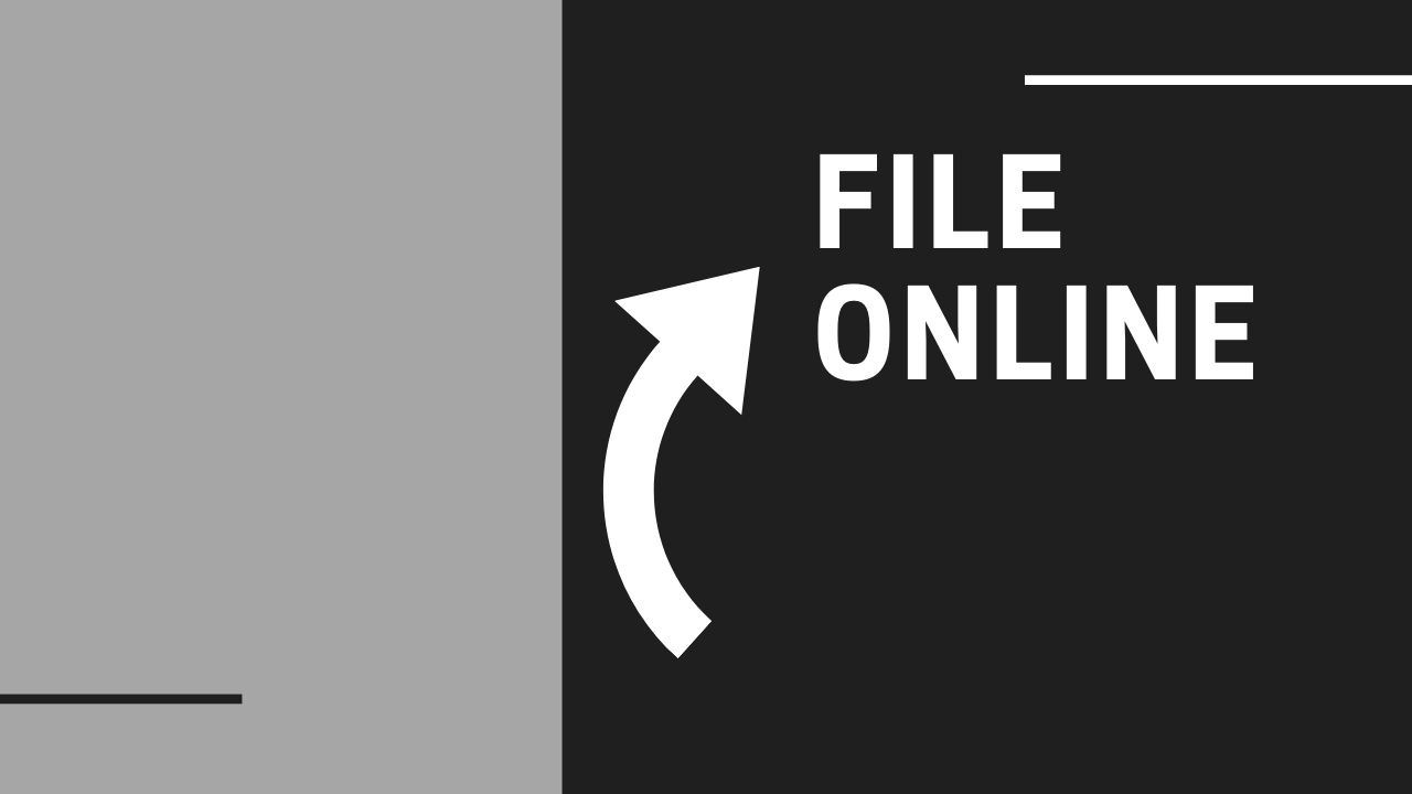 File online Button